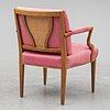 Josef frank, a '969' armchair, firma svensk tenn.