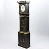 An early mora 18/19th century long case clock.