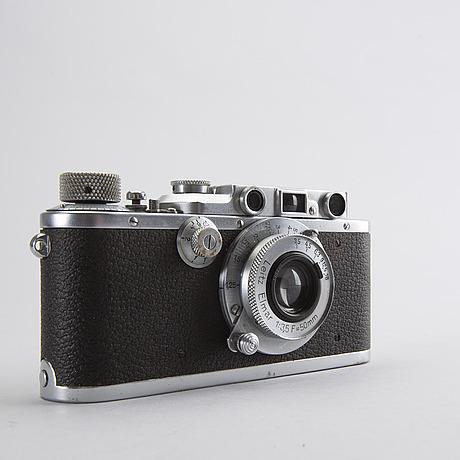 Camera - a leica iii chrom no 140341 from 1934, elmar f=5 cm 1:3,5.