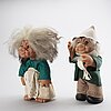 Thomas dam, a pair of trolls 1977 denmrk.