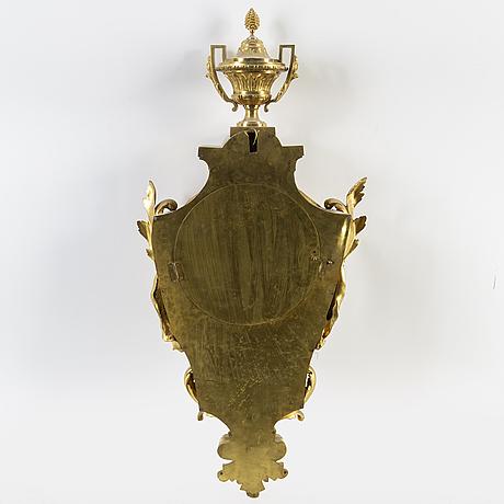 VÄggpendyl, frankrike, 1800-talets andra hälft.