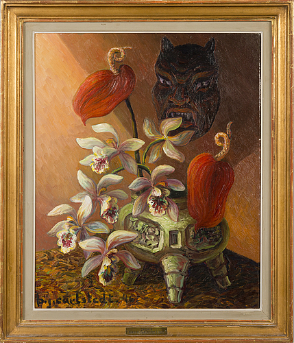 """Birger carlstedt,""""orchis""""."""