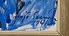 YrjÖ saarinen, öljy kankaalle, signeerattu ja päivätty 1941.