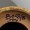 Bitossi, bordslampor, ett par, lergods, italien.