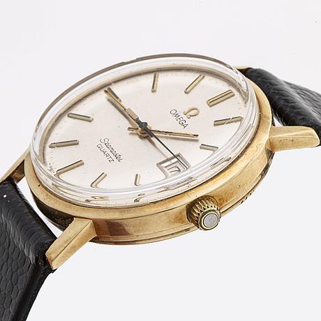 Omega seamaster, armbandsur, 34 mm.
