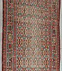 Matta orientalisk semiantik galleri ca 580 x 102 cm.