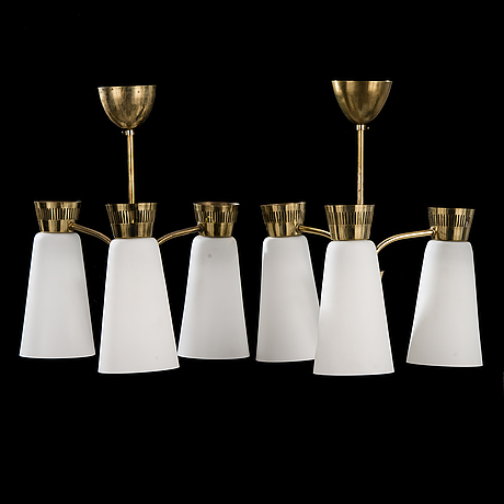 A pair of mid-20th century '103/3', lights for itsu.