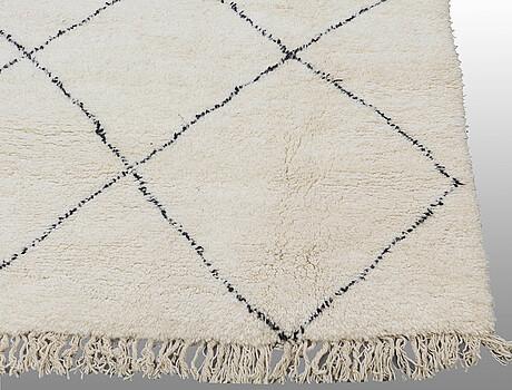 A carpet, morocco, ca 390 x 320 cm.