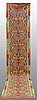 A runner, kilim, ca 407 x 80 cm.
