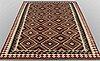 A carpet, kilim, ca 256 x 182 cm.