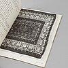 """Mattlitteratur, 16 vol b.la. """"the oriental rug lexicon"""", peter f stone, 1900-tal."""