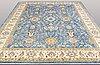 A carpet, ziegler design, ca 357 x 277 cm.