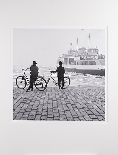 Ismo hÖlttÖ, photograph, pigment print ed. 2/7 + 2 a.p.   signed a tergo, 1964.