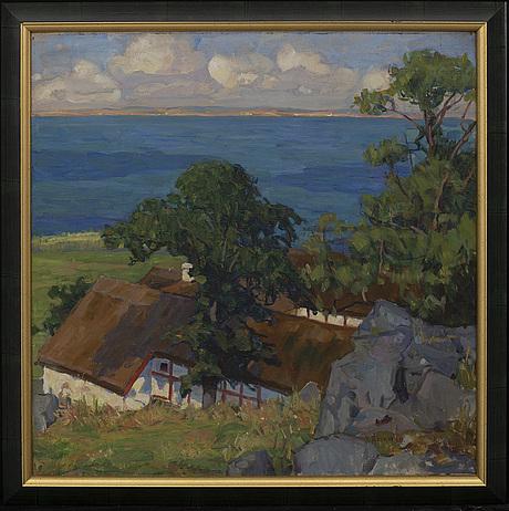 Ingeborg Åkerman, oil on canvas signed.