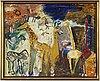 Madeleine pyk, olil on canvas, signed.