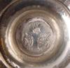 Kanna samt saltkar, silver, tyskland/holland. 1800-tal.
