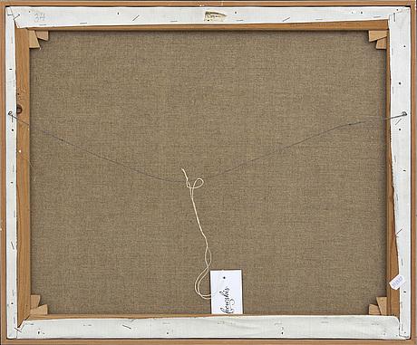 Carl magnus, olja på duk, signerad och daterad -72-73.