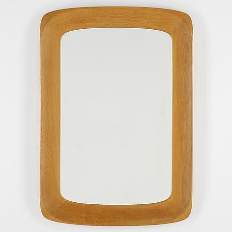 Åke fribyter, mirror, glas & trä, hovmantorp. 1950s-60s.