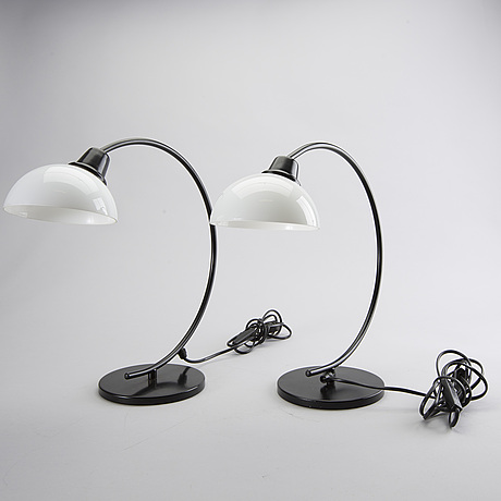 Two table lights, second half of the 20th century.