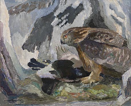 Lennart segerstrÅle, eagle owl.