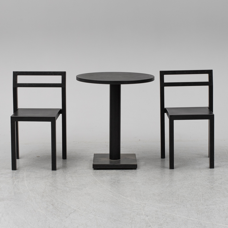 bord två stolar