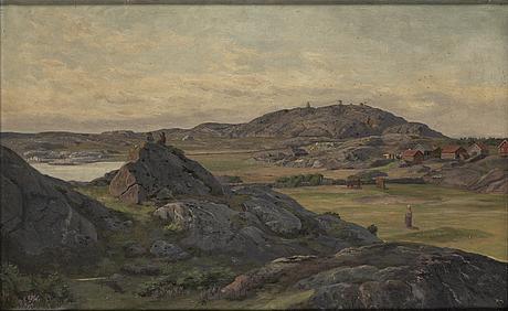 OkÄnd konstnÄr, 1900-tal, olja på duk.