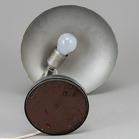 Bordslampa, funkis, 1930-tal.