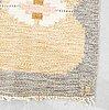 Ingegerd silow, a flat weave carpet ca 230 x 161 cm.