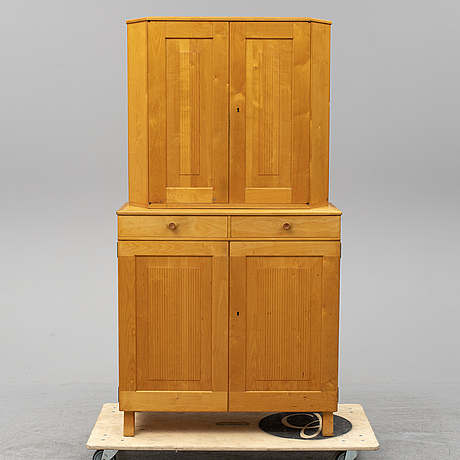 Carl malmsten, a 'talavid' birch cabinet, waggeryds möbelfabrik ab.