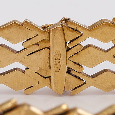 Armband, 14k guld.