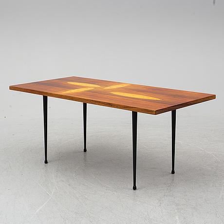 Tapio wirkkala, a mid-20th-century coffee table for asko, finland.