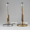 "A pair of bergboms table lamps, ""b-111"", second half of the 20th century."