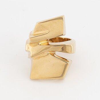 14K gold ring, Danish design.