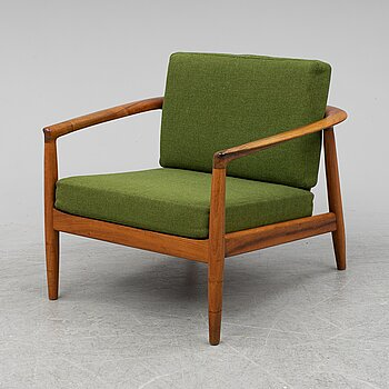 FOLKE OHLSSON, easy chair, Bodafors, 1960's.