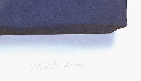 YrjÖ edelmann, stamped signature and numbered ea 28/30.