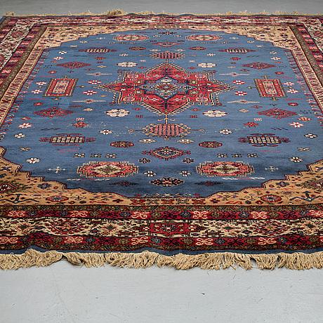A carpet, old eastern europe, ca 399 x 294-297,5 cm.