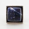 Hans hansen sterlings silver and sodalite ring.