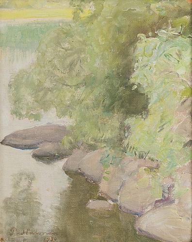Pekka halonen, summer landscape.