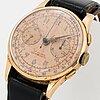 Wristwatch, chronograph, 37.5 mm.