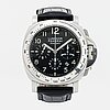 Officine panerai, luminor daylight, kronograf, armbandsur, 44 mm.