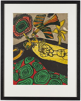BEVERLOO CORNEILLE, lithograph in colours, 1971, signed 145/200.