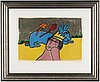 Beverloo corneille, litjograph in colours, 1998, signed 141/150.