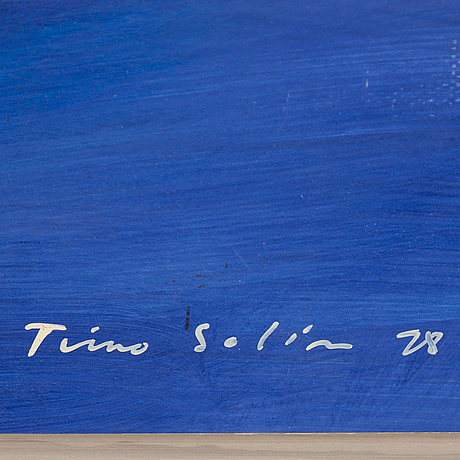 Timo solin, mixed media, signed and dated -78.
