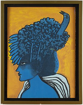 BEVERLOO CORNEILLE, lithograph in colors, signed and dated 1998.