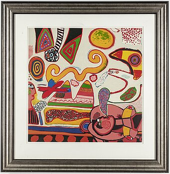 BEVERLOO CORNEILLE, lithograph in colours, 1997, signed and numbered 49/150.