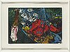 Two malcolm morley, aquatint and  etchings, signed and numbered 26/69.