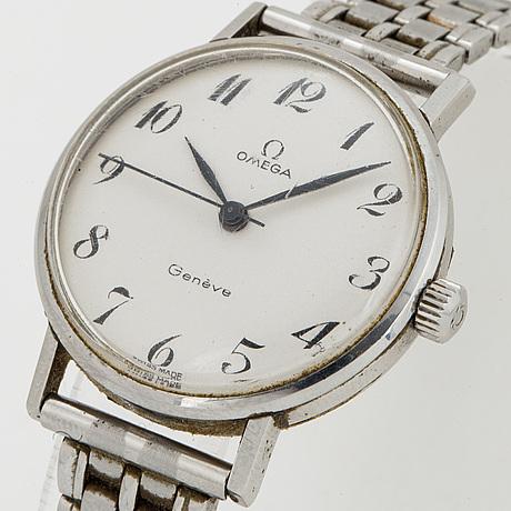 Omega, genéve, armbandsur, 31 mm.