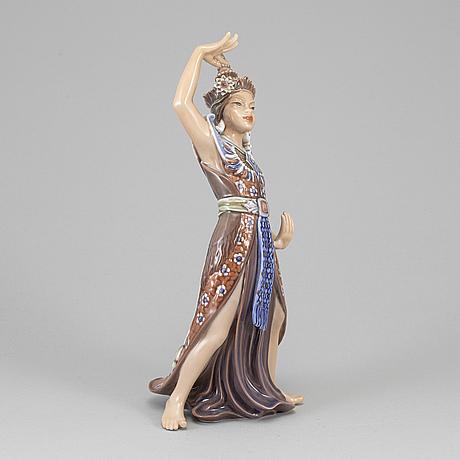 Jens peter dahl-jensen, a porcelain figurine, denmark.
