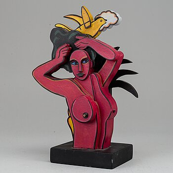 CORNEILLE, sculpture, signed and numbered 432/999.
