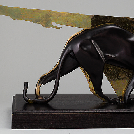 Fernandez arman, bronze sculpture, 2004, signed and numbered 24/99.